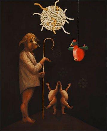 Maleri af Bo Thobo-Carlsen